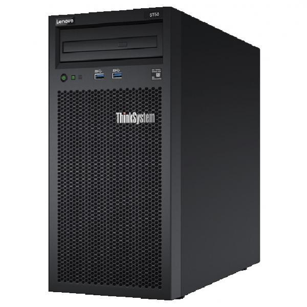 ThinkSystem ST50 [E-2244G 4C8T 3.8GHz 1x8GB RSTe 3NLFF DVD-ROM 400W 3yr Svr]