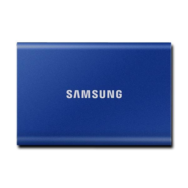 외장SSD, 포터블 T7 [USB3.2 Gen2] [MU-PC500H/WW] [500GB/인디고블루]
