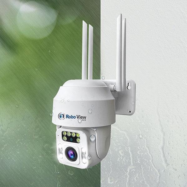 실외용 해킹방지 IP카메라, FULL HD 2304P, 로보뷰P3 [300만화소]