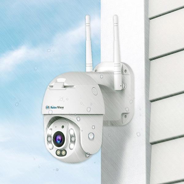 실외용 해킹방지 IP카메라, FULL HD 1080P, 로보뷰P2 [200만화소]