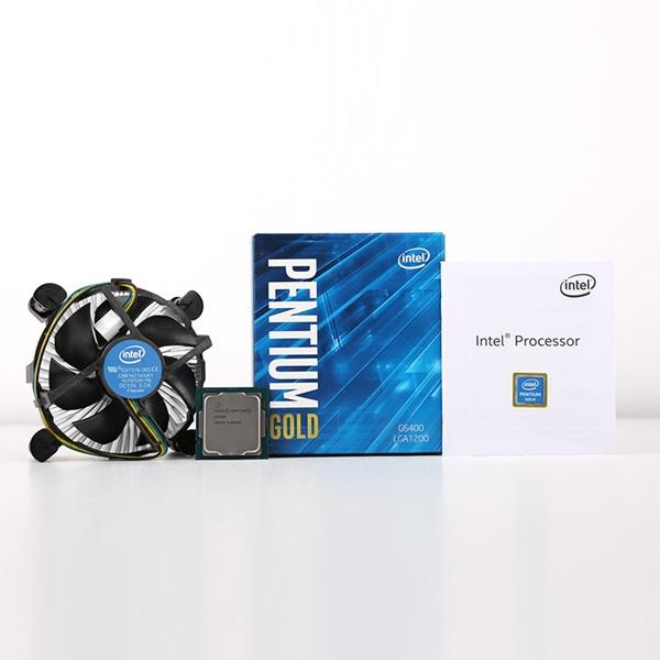 펜티엄 골드 G6400 정품박스 (코멧레이크/4.0GHz/4.0MB/쿨러포함)