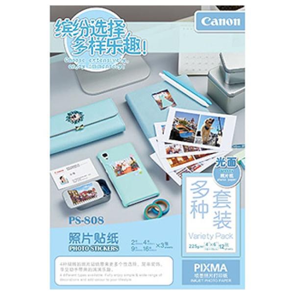 잉크젯전용 포토스티커 용지 PS-808 [1권X12매]
