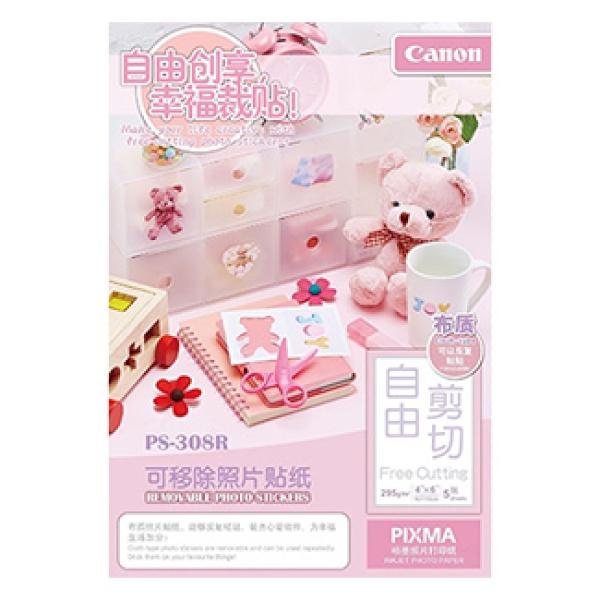 잉크젯전용 포토스티커 용지 PS-308R [4X6/1권X5매]