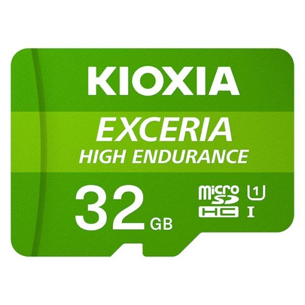 MicroSDHC/XC, CLASS10, UHS-I(U1), V30, A1, 4K(UHD), 100MB/s EXCERIA HIGH ENDURANCE 32GB  [어댑터 포함] [LMHE1G032GG2]