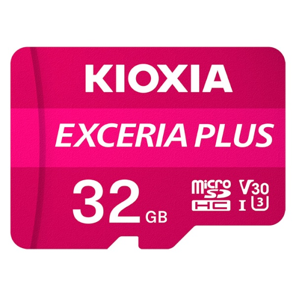 MicroSDHC/XC, CLASS10, UHS-I(U3), V30, A1, 4K(UHD), 100MB/s EXCERIA PLUS 32GB  [어댑터 포함] [LMPL1M032GG2]