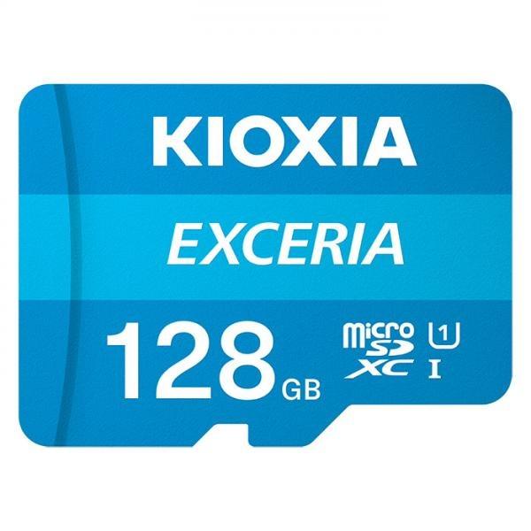 MicroSDHC/XC, CLASS10, UHS-I, 100MB/s EXCERIA 128GB  [어댑터 포함] [LMEX1L128GG2]