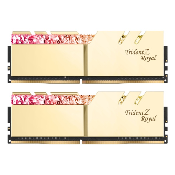 DDR4 64G PC4-28800 CL18 TRIDENT Z ROYAL 골드 (32Gx2)