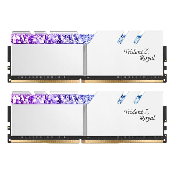 DDR4 64G PC4-28800 CL18 TRIDENT Z ROYAL 실버 (32Gx2)
