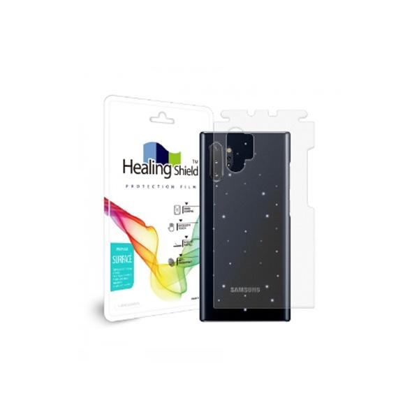 갤럭시노트10 플러스 삼성 정품 LED 커버용 무광 외부보호필름 2매