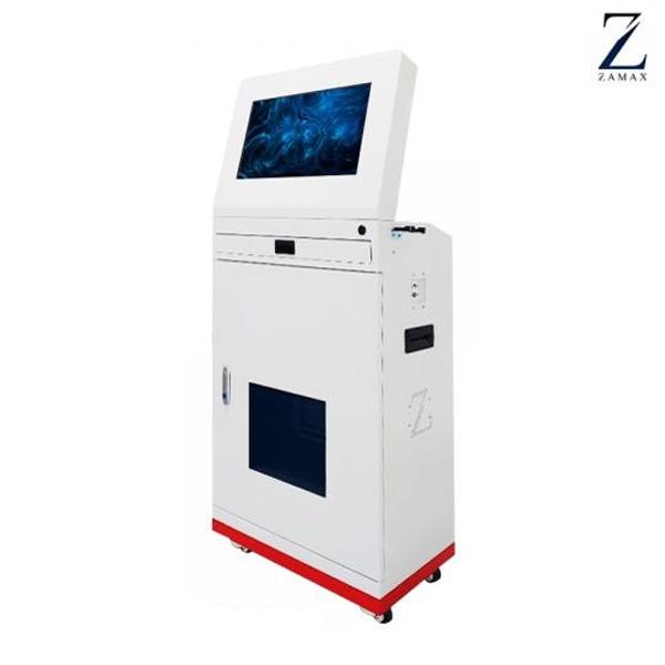 ZMK-215HP PREMIUM 키오스크 함체 + 모니터