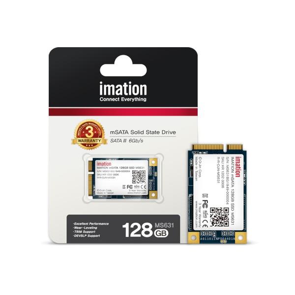 SSD MS631 mSATA 128GB 3D TLC