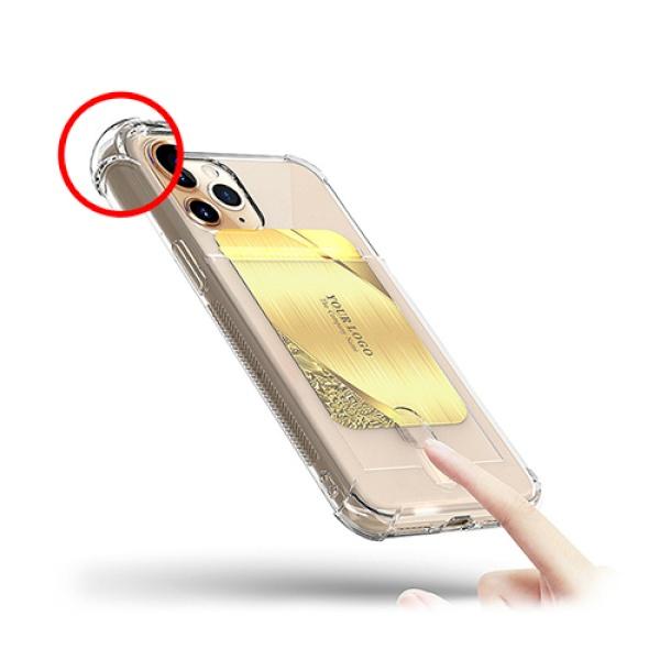 갤럭시 노트 카드 수납 투명 범퍼케이스