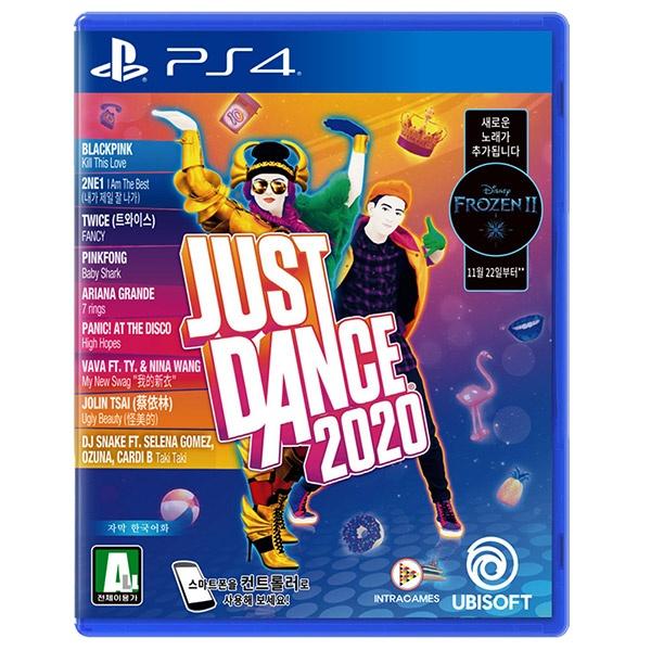 PS4 저스트댄스 2020