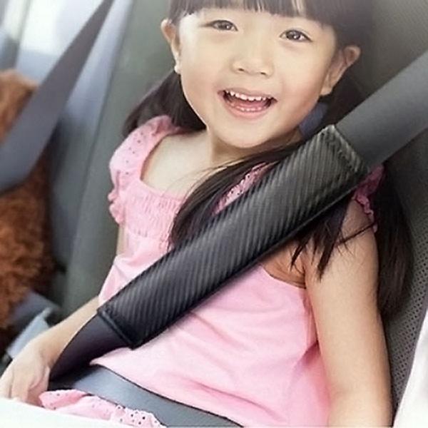안전 벨트 안전 커버 파보니 카본 2pcs
