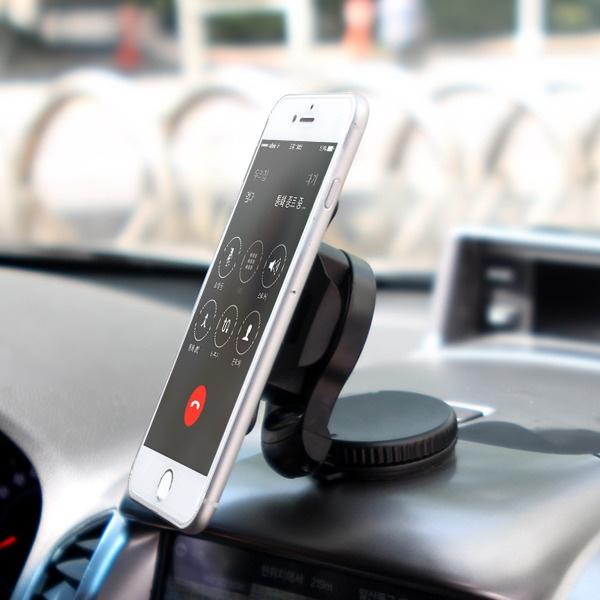 운전자를 위한 맞춤형 차량용 스마트폰 스탠드 DAJABA [핸드폰/유리/대시보드/흡착/블랙]