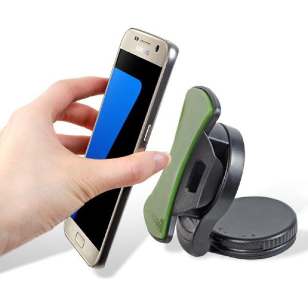 스마트폰 360도 회전 흡착식 거치대 Dajaba [핸드폰/유리/대시보드/흡착/블랙]