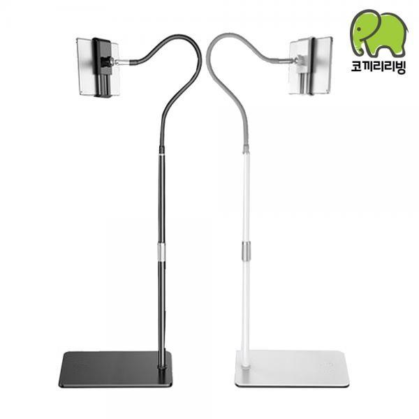 코끼리리빙  태블릿 핸드폰 거치대 M2 EPG-5395 화이트/블랙