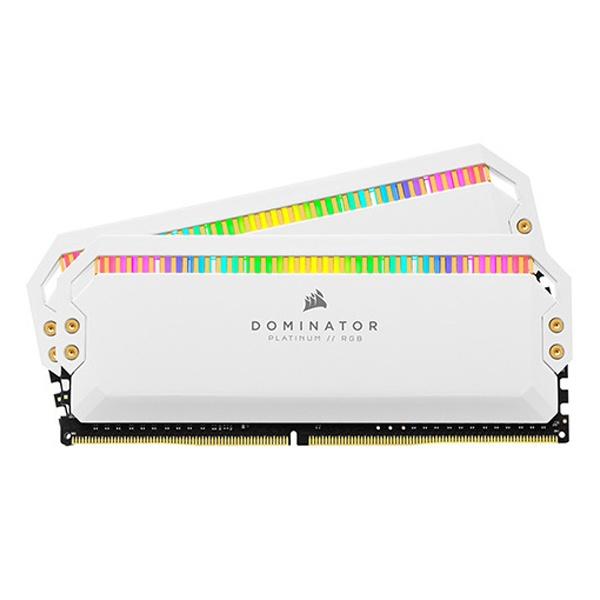 DDR4 16GB [8GB x 2] PC4-25600 CL16 Dominator Platinum RGB WHITE INTEL