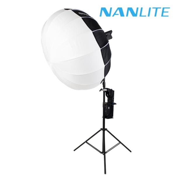 [NANLITE ] 포르자500 랜턴 소프트박스 원스탠드세트