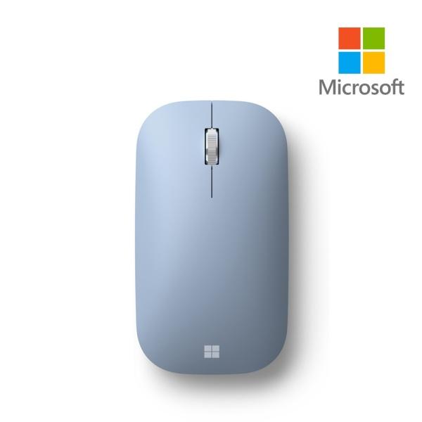 블루투스 블루트랙마우스, Modern Mobile Mouse (모던 모바일 마우스) [MS코리아정품] [파스텔블루]