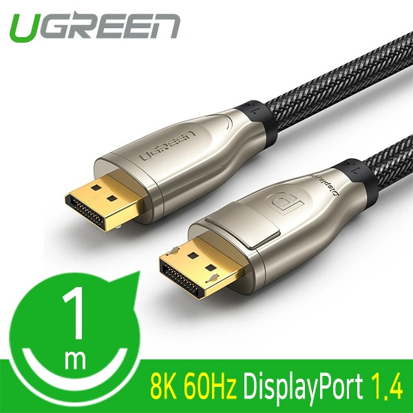 유그린 DisplayPort 케이블 [Ver1.4] 1M [U-60842]