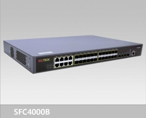 솔텍 SFC4000B 광스위치 [10Gbps/L2]