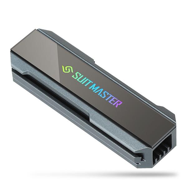 SUITMASTER M.2 SSD 방열판 AUTO RGB