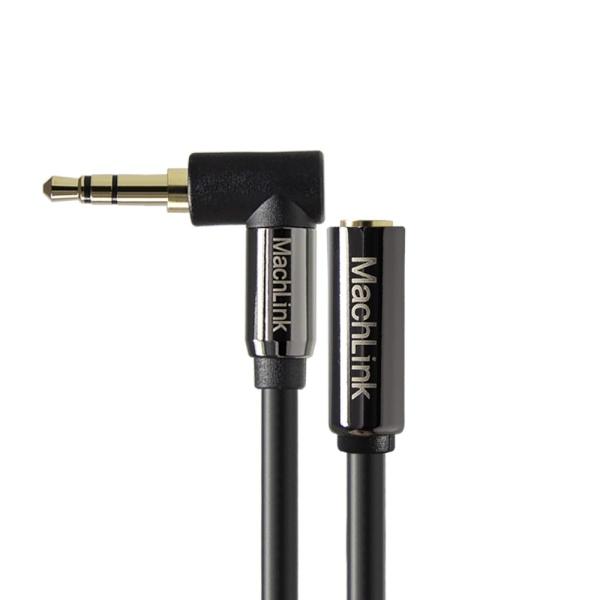 마하링크 3극 스테레오 고급형 꺾임 연장 케이블 5M [ML-3EH005]