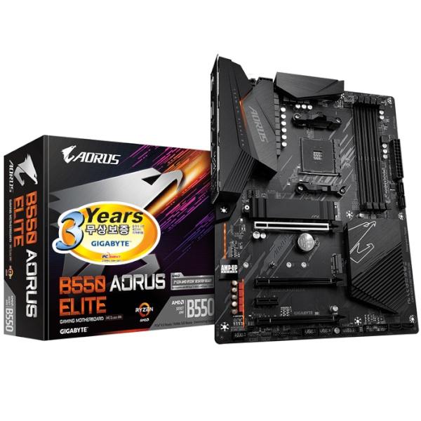 B550 AORUS ELITE 피씨디렉트 (AMD B550/ATX)
