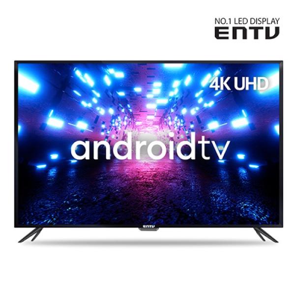 이엔티비 55인치 구글AI 스마트 UHDTV / 안드로이드TV / 넷플릭스,유튜브 / EN-SM550U