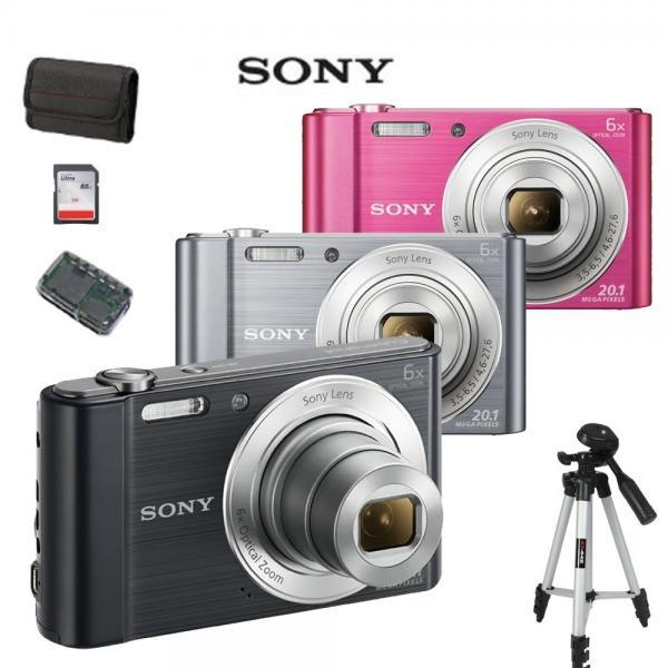 사이버샷 DSC-W810 +SD64GB+정품파우치+카드리더기+삼각대 풀패키지