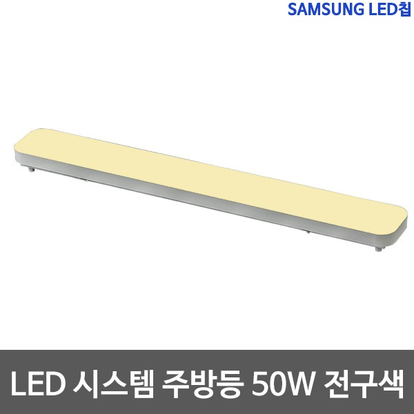 샤이니 시스템 LED 주방등 삼성칩 [50W] [50W/전구색(노란빛)]