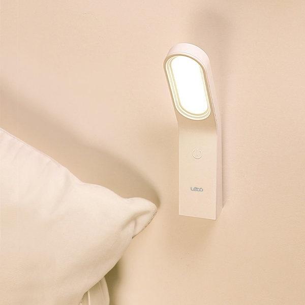 [레토] 4 in 1 무선 LED 스탠드 벽 무드등 수면등 LML-RM16