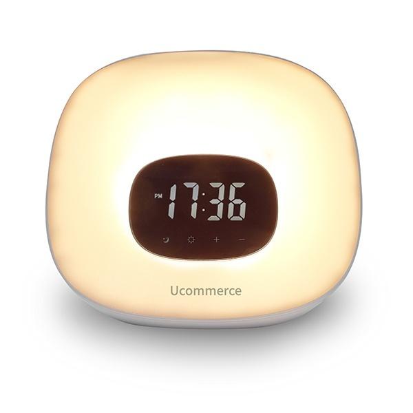 인테리어 LED 무드등 탁상용 시계 조명 침대 취침램프 [전원어댑터 포함]