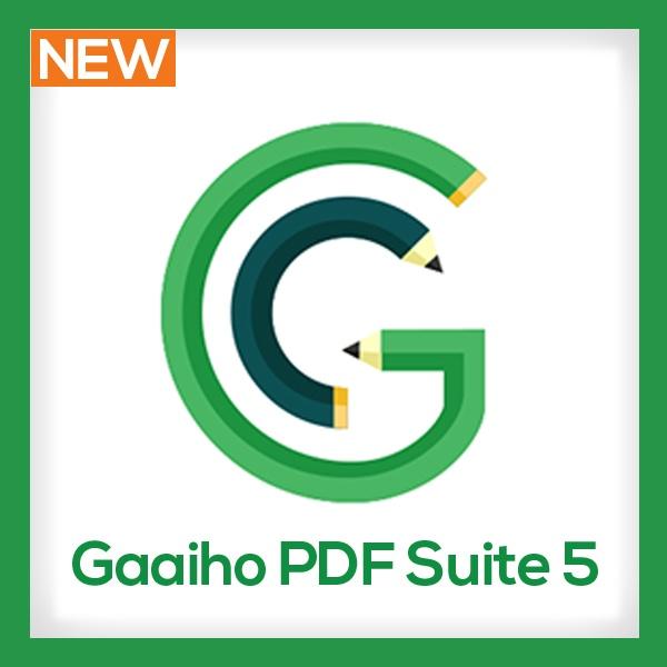 [(주)네스지오] Gaaiho PDF Suite 5 비즈니스 [기업용/ESD/영구사용]