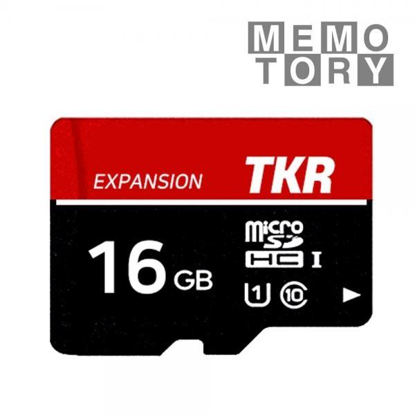 MicroSDHC/XC, TKR 메모토리, C10, UHS-1, 80MB/s MicroSDHC 16GB [TKM-016G]