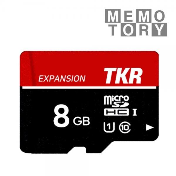 MicroSDHC/XC, TKR 메모토리, C10, UHS-1, 80MB/s MicroSDHC 8GB [TKM-008G]