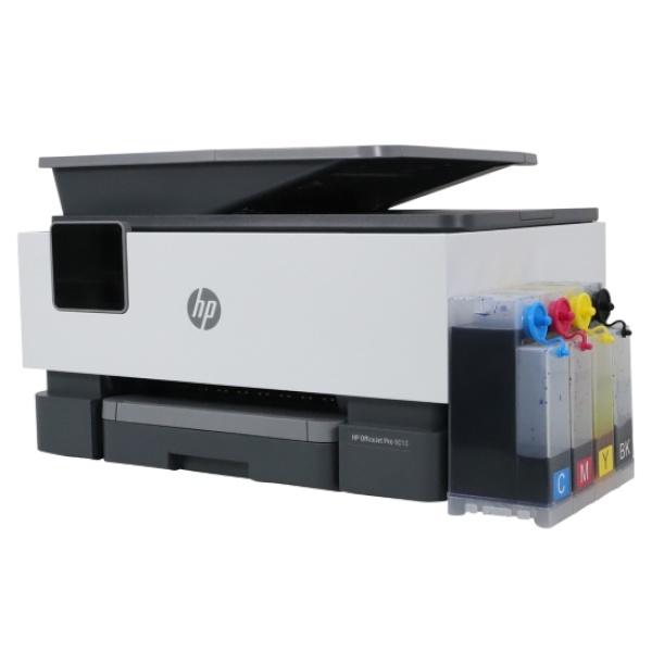 HP Officejet Pro 9010 복합기(병행수입)+ 마하 무칩 무한공급기 [840ml]
