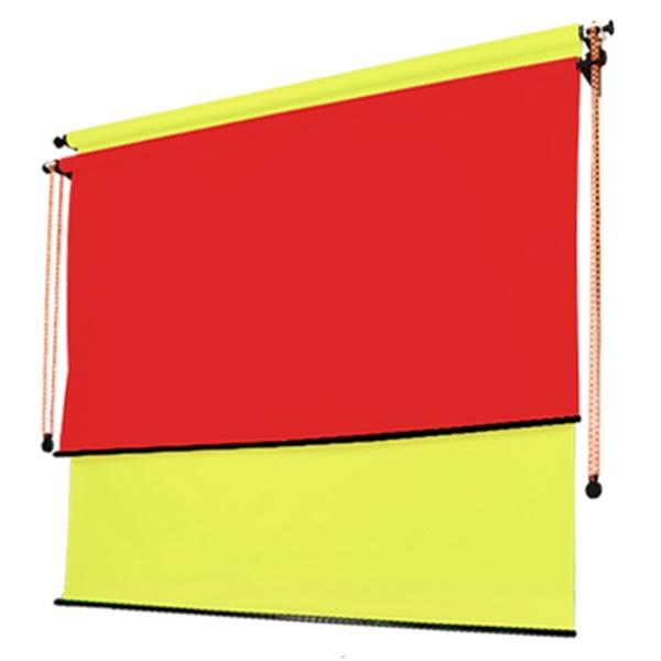벽면고정형 2롤 체인 배경시스템 WC2R-2.7