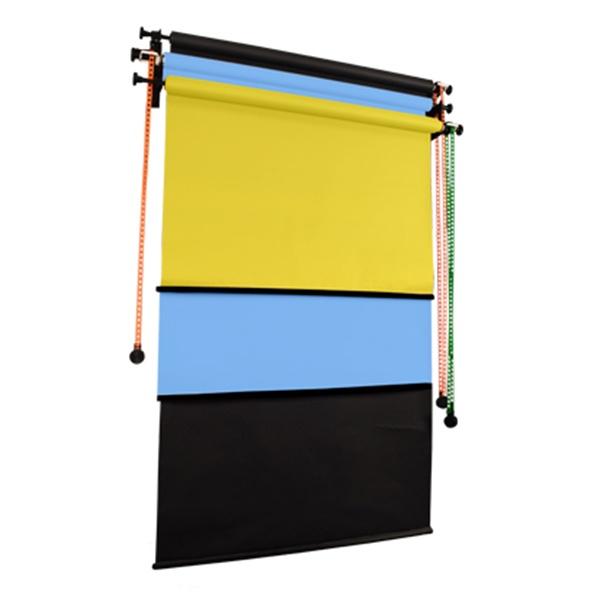 벽면고정형 3롤 체인 배경시스템 WC3R-1.3