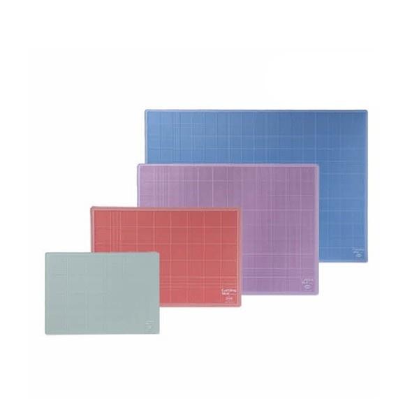 컬러투명커팅매트 A4(300x215mm) [제품선택] 적색