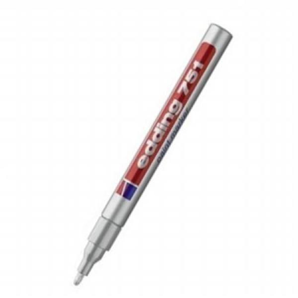 [에딩] 페인트마카 e-751(1자루 1-2mm) [제품선택] 은색