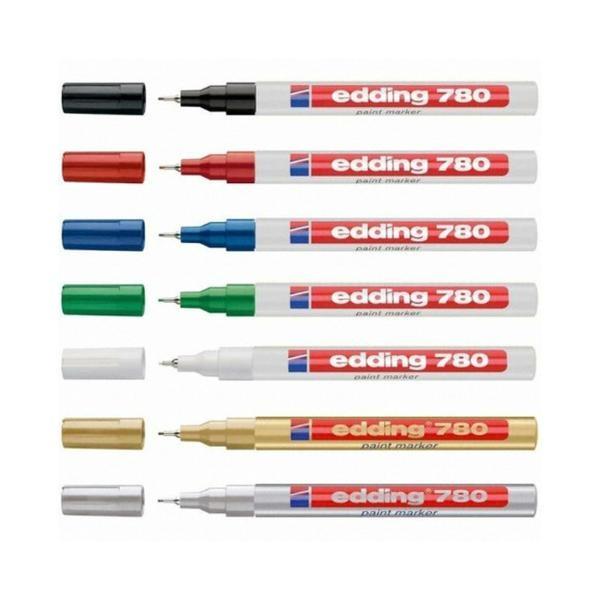 [에딩] 페인트마카 e-780(1자루 0.8mm) [제품선택] 금색
