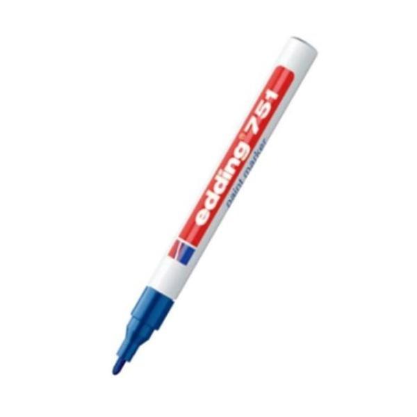 [에딩] 페인트마카 e-751(1자루 1-2mm) [제품선택] 청색