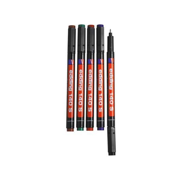 [에딩] OHP마카 e-140(1자루 0.3mm) [제품선택] 적색