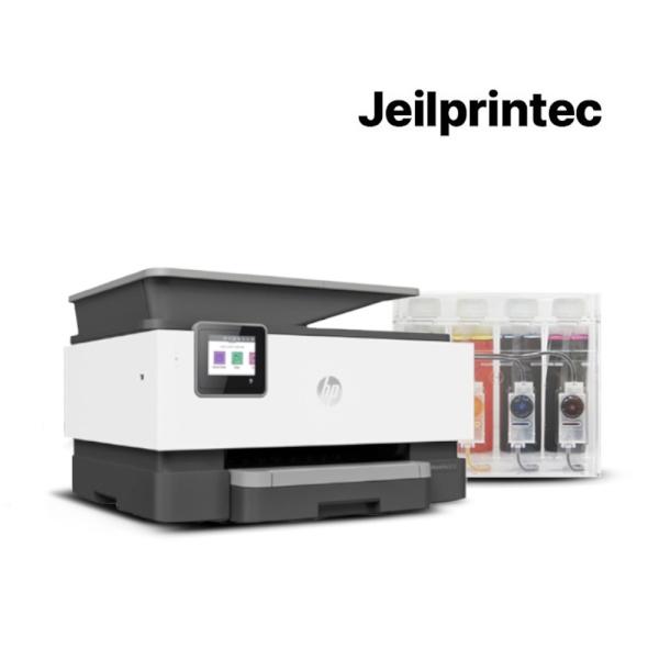 HP Officejet Pro 9010 무한잉크 복합기 (병행수입) + 무한공급기 [2000ml]