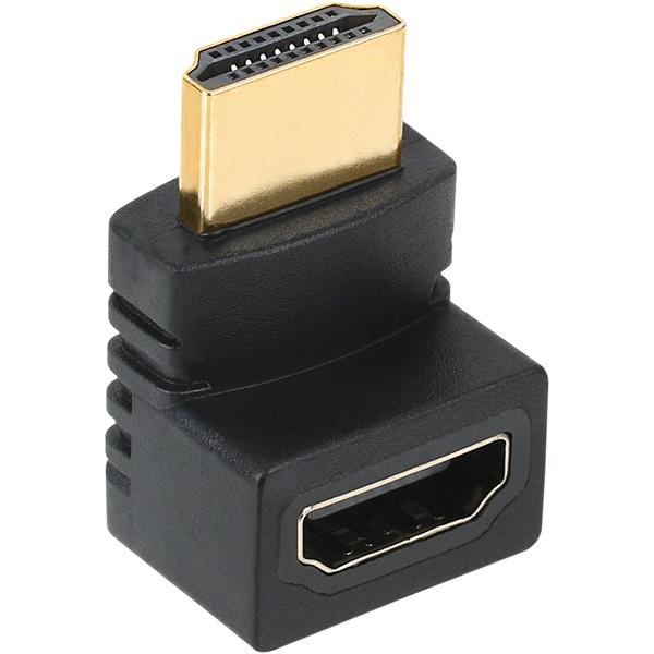 NETmate HDMI(M/F) 위쪽 꺾임 젠더 [NMG012]