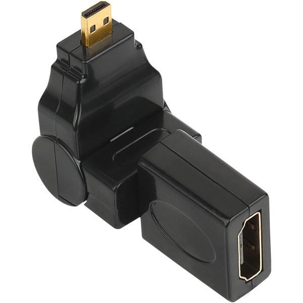 NETmate HDMI to Micro 회전 젠더 [NMG018]