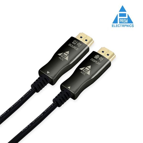 프리즘일렉트로닉스 HDMI 광 케이블 [Ver2.0] 10M [PR-AOC10A]