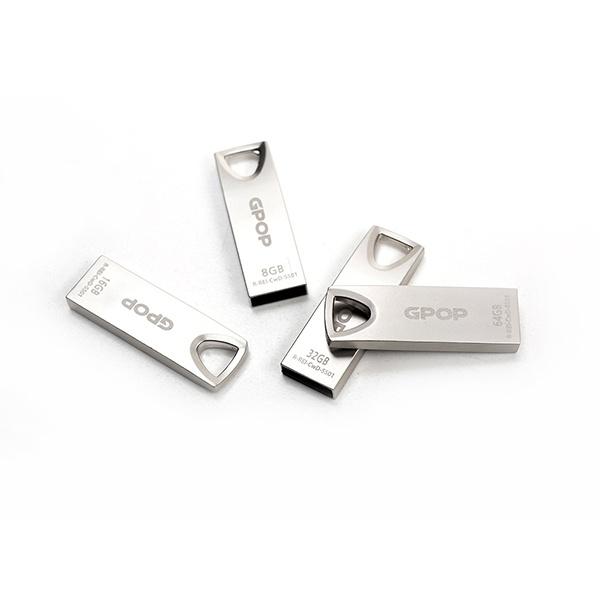 USB, GPOP 샤인실버 메탈 SS-01 [128GB/실버]